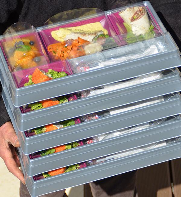 Livraison de coffret repas à domicile ou sur votre lieu de travail